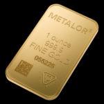 Metalor Guldbarre Stanset 1 Oz