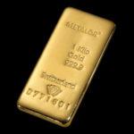 Metalor Guldbarre Støbt 1000g