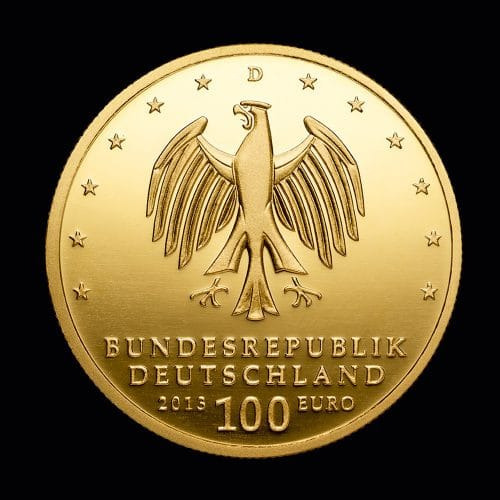 Køb 100 Euro Dessau-Wörlitz 2013 online hos Nyfortuna