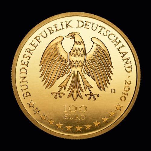 Køb 100 Euro Würzburg 2010 online hos Nyfortuna