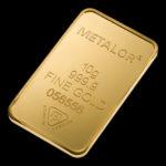 Metalor Guldbarre Stanset 10 G.