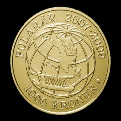 2008 polarmønt sirius