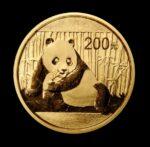 2015 panda guldmønt