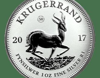 10 x Limited 1 Oz Sølv Krügerrand