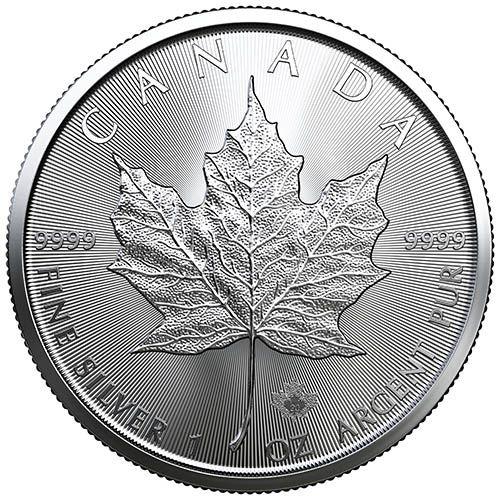 maple leaf sølv