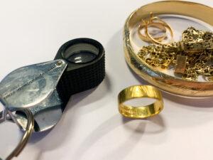 finde guld og sølv med metaldetektor