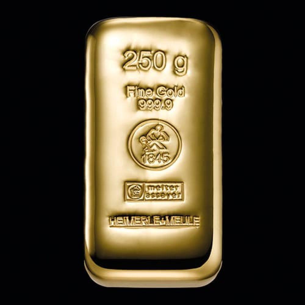 Guldbarre Støbt 250g