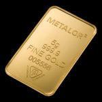 Metalor Guldbarre Stanset 5 G.