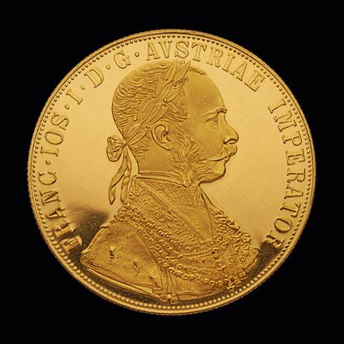 Østrigsk Franz Joseph 4 Dukat