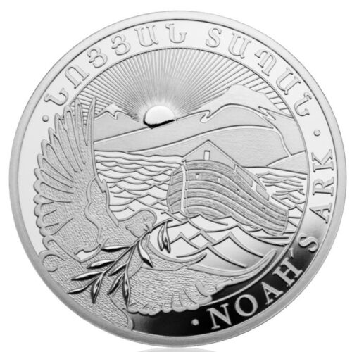noahs ark sølvmønt