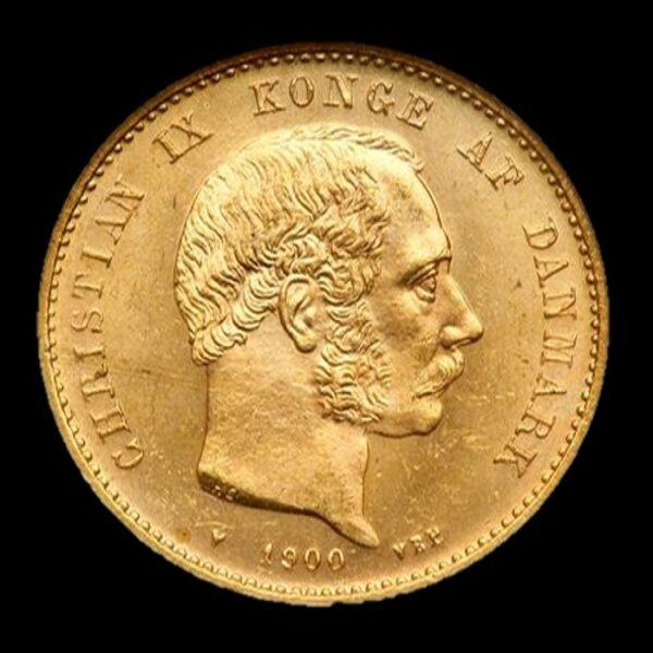 Christian ix 20 kr guldmønt