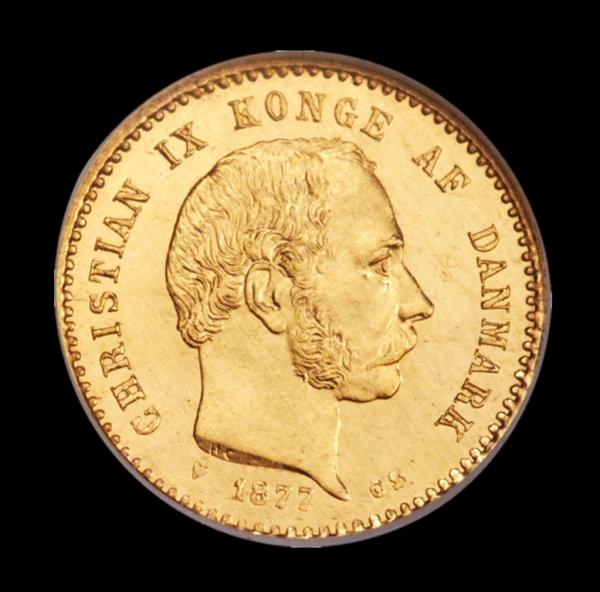 Christian ix 10 kr guldmønt