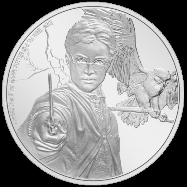 Harry Potter sølvmønt