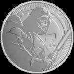 2$ New Zealand Mint 2020 - 1 Oz - STAR WARS™ - Darth Vader™