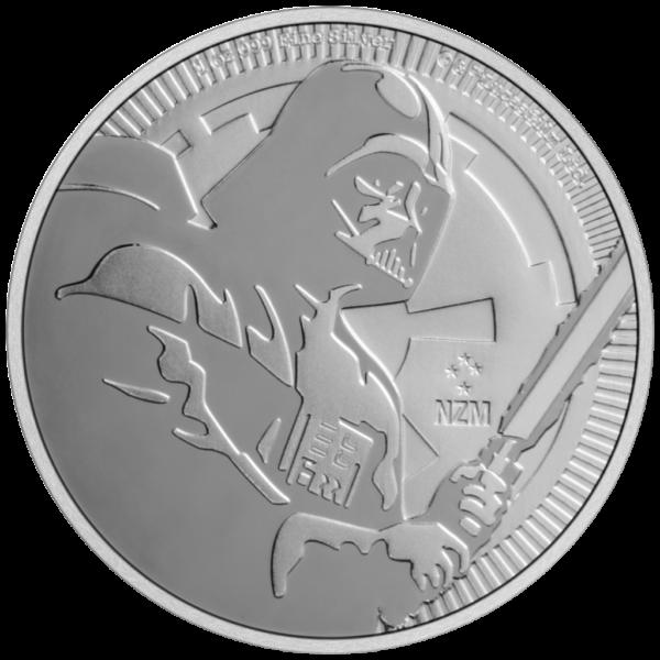 Star Wars Darth Vader sølvmønt