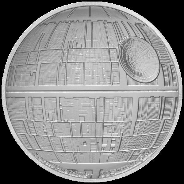 2$ New Zealand Mint 2020 - 1 Oz - STAR WARS™ - Death Star™