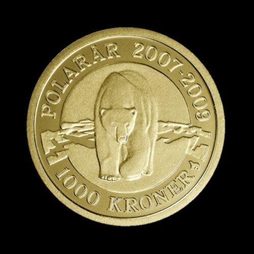 2007 Polarmønt Isbjørn