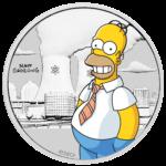 50 Cent Perth Mint 2020 - ½ Oz - Homer Simpson™ Sølvmønt