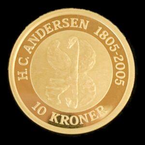 h.c. andersen 10 kr.