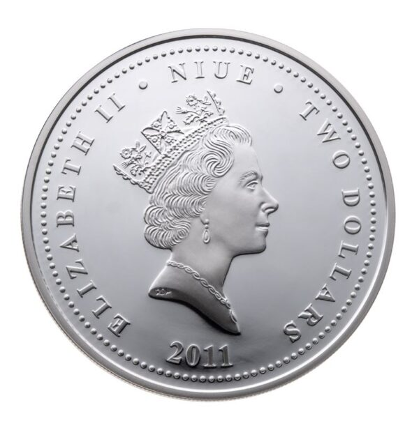2011 star wars mønt