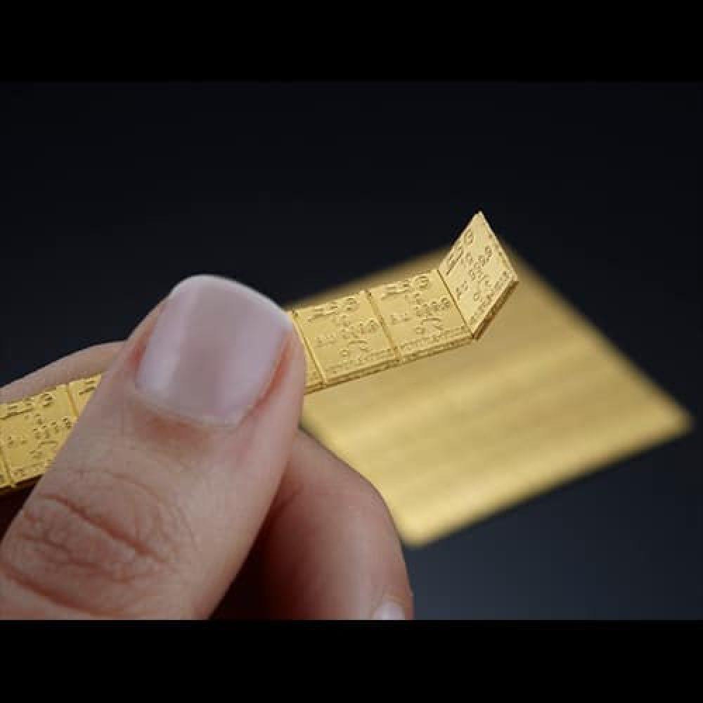 Combi Guldbarre 100 X 1g finger