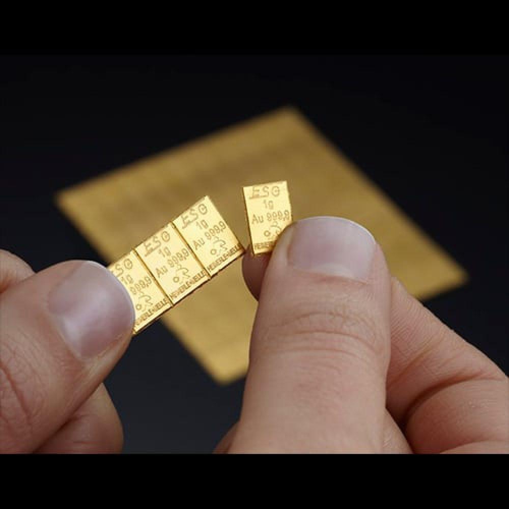 Combi Guldbarre 100 X 1g finger 1