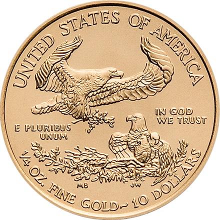 american gold eagle 1/4 oz