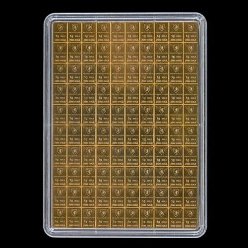 Combi Guldbarre 100 X 1g