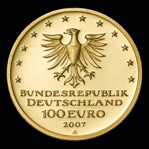 Køb 100 Euro Lübeck 2007 online hos Nyfortuna - se det store udvalg