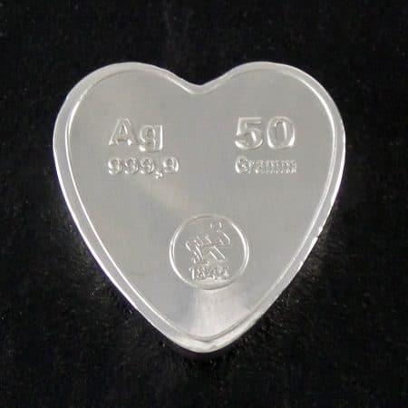 sølvhjerte