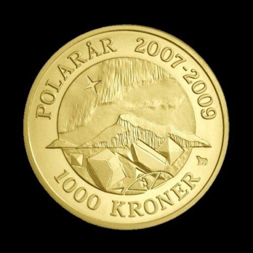 2009 polarmønt nordlys