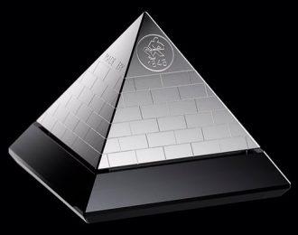 Finsølv Pyramide 500g