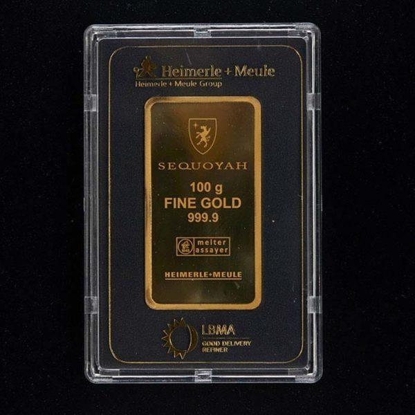 Nyfortuna 100 gram 999 guldbarre