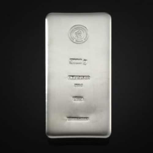 Sølvbarre Støbt 5000 G