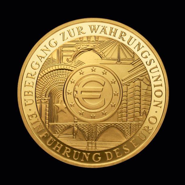 100 Euro Währungsunion 2002
