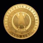 100 Euro Währungsunion 2002 bag