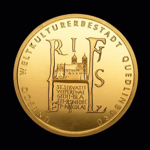 Køb 100 Euro Quedlinburg 2003 online hos Nyfortuna.dk